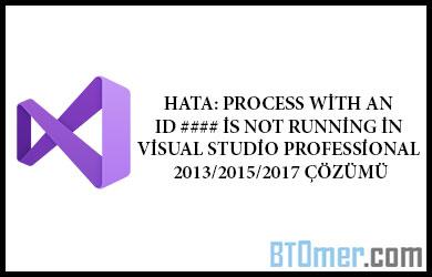 Visual Studio - Btomer