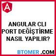angular-cli-port-degistirme