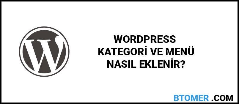 wordpress-kategori-nasil-eklenir